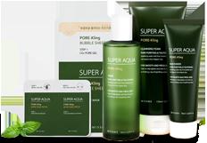 Missha Super Aqua Pore Correcting Series