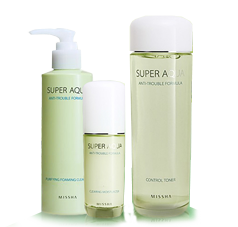 Missha Super Aqua Pore Correcting Series